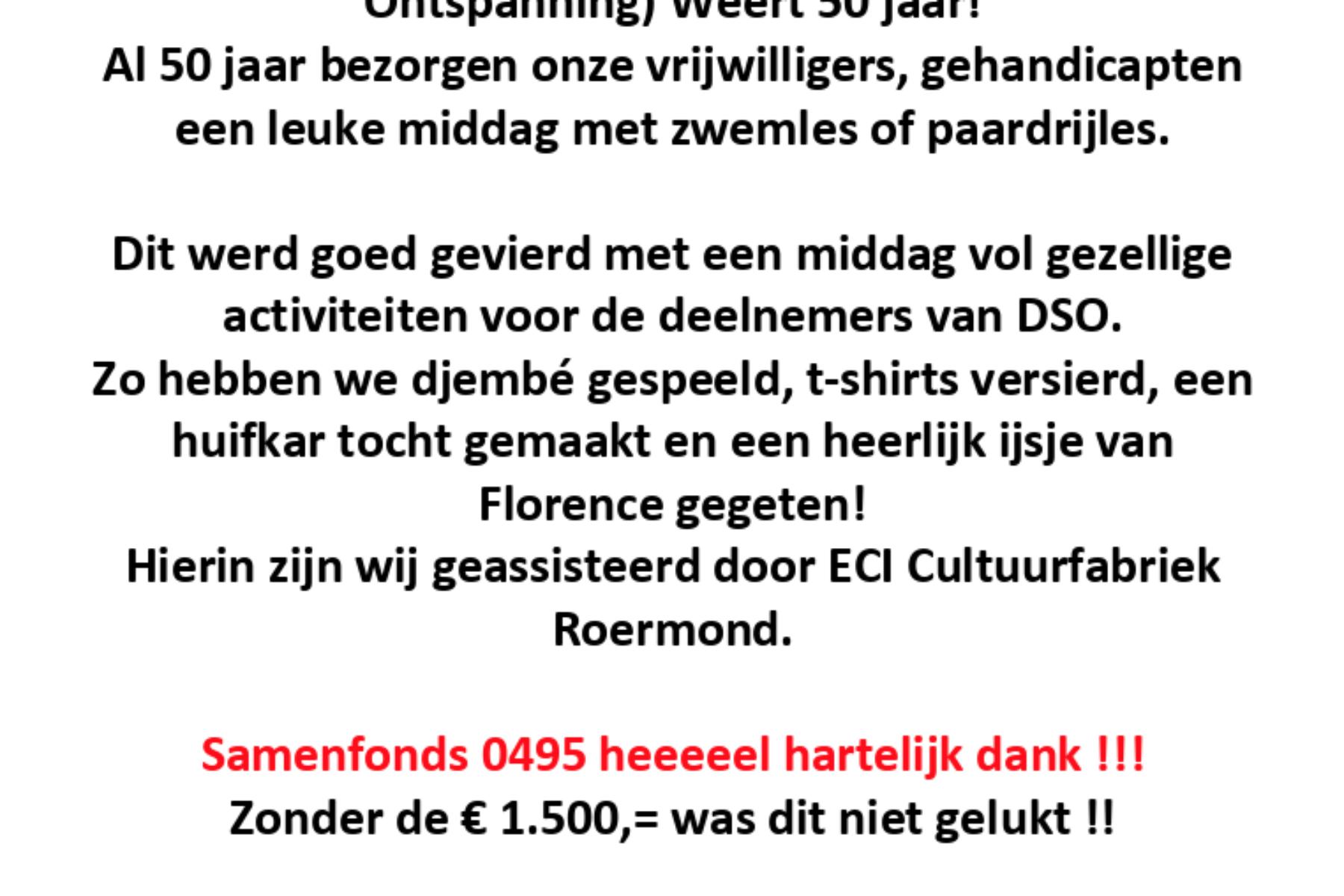 Stichting DSO: Door Sport Ontspanning